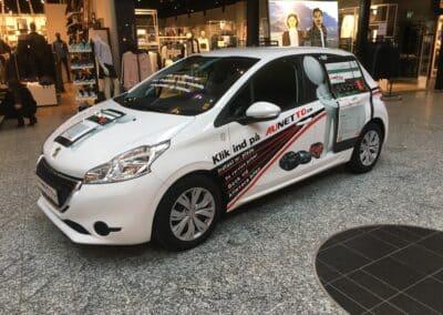 Peugeot 208 i herningcentret