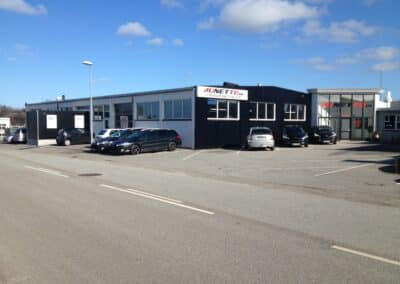 Aunetto Herning efter facade opdatering
