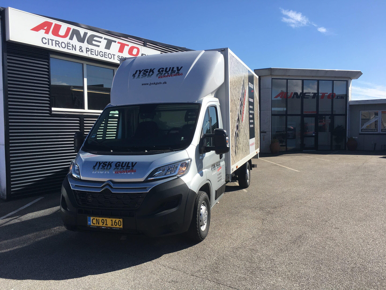 Aunetto erhvervsbiler værksted i herning